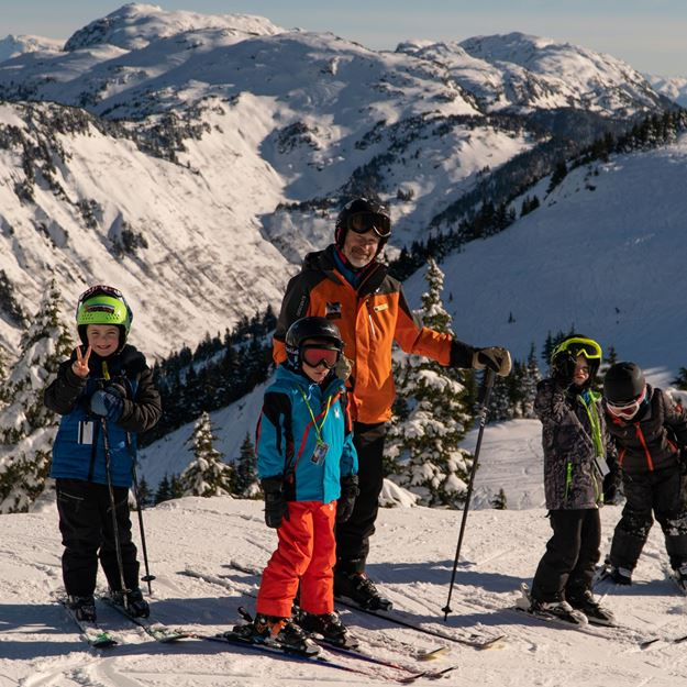 Picture of Holiday Camp - Intermediate/Advanced (Ski, Ages 4-14)